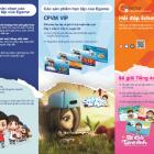 Mẫu tờ rơi trò chơi giáo dục trực tuyến Egame