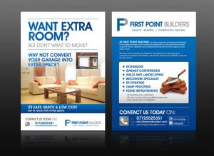 Mẫu tờ rơi quảng cáo cho một công ty chuyên tư vấn xây dựng và thiết kế nội thất. In tờ rơi giá rẻ tại Hà Nội