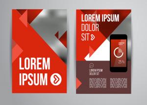 Đây là một mẫu thiết kế tờ rơi quảng cáo App cho điện thoại di động khá đẹp
