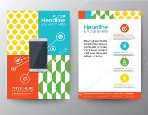 Mẫu in tờ rơi đa sắc màu quảng cáo app hay cho thiết bị di động